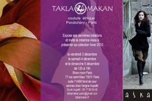 Invitation vente privée Takla Makan