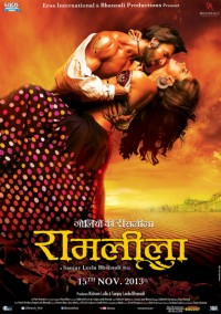 Affiche du film Bollywood Ram Leela, 2013