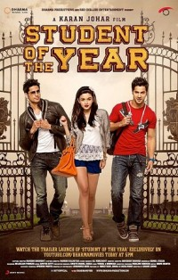 Affiche du film Bollywood Student of the year, 2012