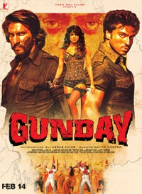 Affiche du film bollywood Gunday, 2014