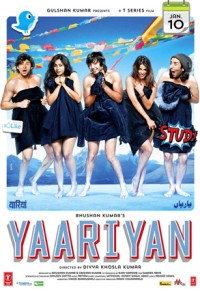 Affiche du film bollywood Yaariyan, 2014